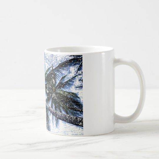 Pop Art Palm Tree Coffee Mug