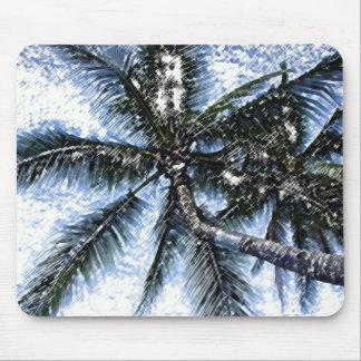 Pop Art Palm Tree Mouse Pad