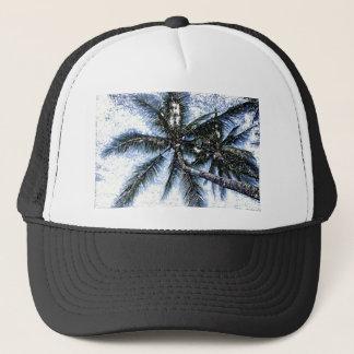 Pop Art Palm Tree Trucker Hat