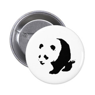 Pop Art Panda Buttons