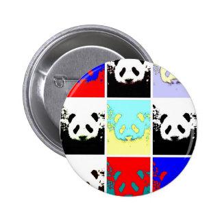 Pop Art Panda Button
