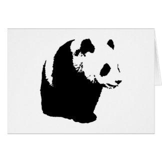 Pop Art Panda Card
