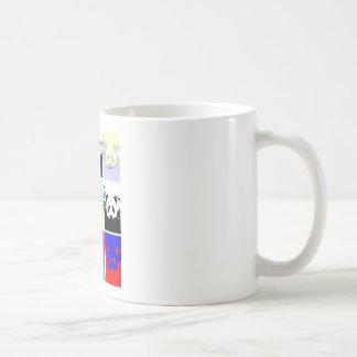 Pop Art Panda Coffee Mug
