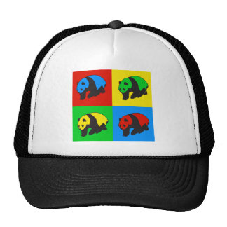 Pop Art Panda Mesh Hat