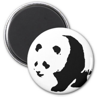 Pop Art Panda Magnet