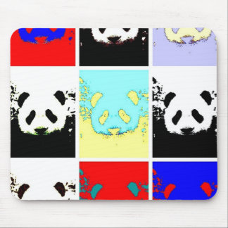 Pop Art Panda Mouse Pad