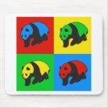Pop Art Panda Mouse Pad