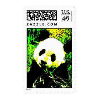 Pop Art Panda Postage