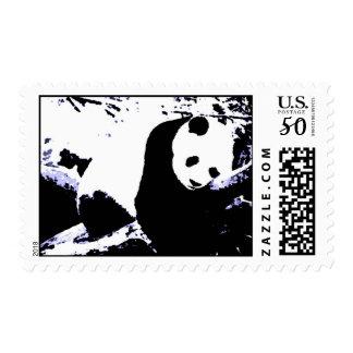 Pop Art Panda Stamps