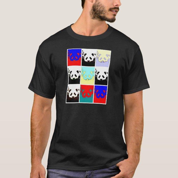 Pop Art Panda T-Shirt