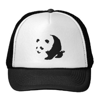 Pop Art Panda Trucker Hat