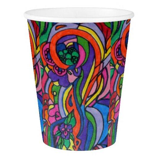 Pop Art Paper Cup
