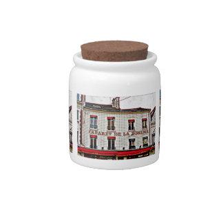 Pop Art Paris Candy Jars