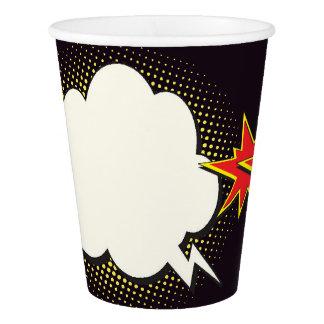 Pop Art Party Paper Cups