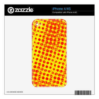 pop art pattern decals for iPhone 4S