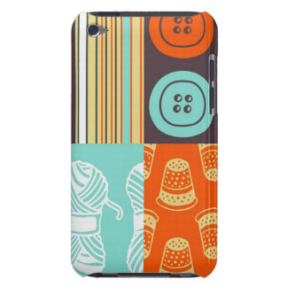 Pop-art pattern - sewing barely there iPod case