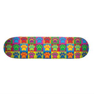 Pop Art Paws Skate Deck