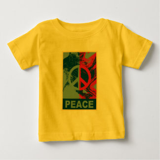 POP ART Peace Symbol Baby T-Shirt
