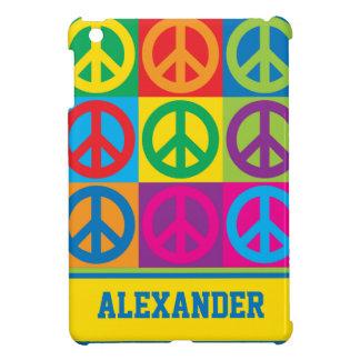 Pop Art Peace Symbols iPad Mini Cover