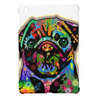 Pop Art Pet Pug Colorful Art Retro iPad Mini Covers