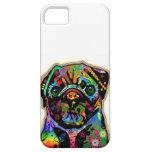 Pop Art Pet Pug Colorful Art Retro iPhone 5 Cover