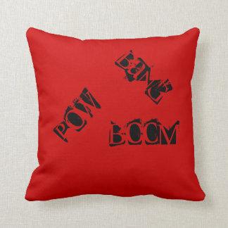 Pop Art Phrase Pillow