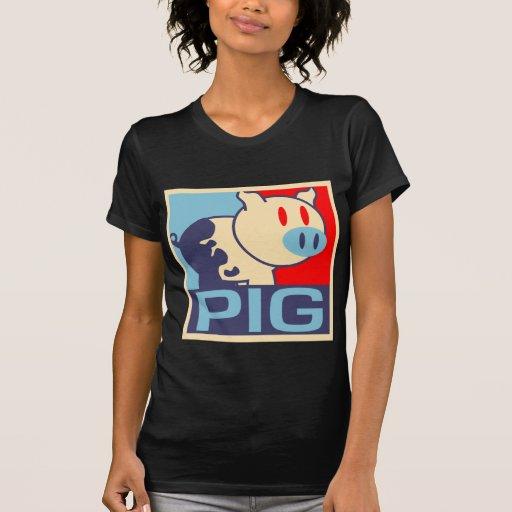 Pop Art Pig Shirt