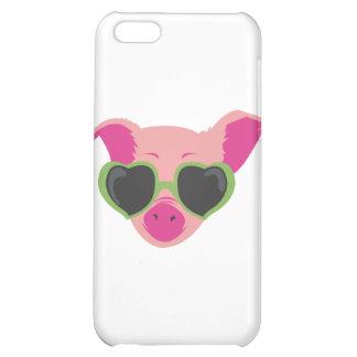 Pop art Piggy iPhone 5C Cases