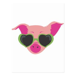 Pop art Piggy Post Cards