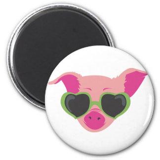 Pop art Piggy Refrigerator Magnet