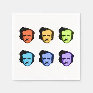 Pop Art Poe Napkin