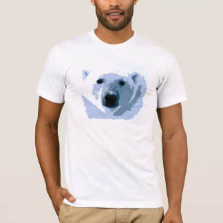 Pop Art Polar Bear T-Shirt