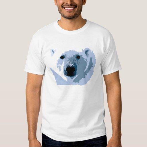 Pop Art Polar Bear Tee Shirt