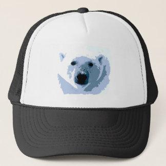 Pop Art Polar Bear Trucker Hat