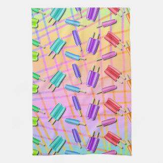 POP ART POPSICLES HAND TOWEL