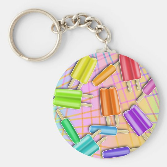 POP ART POPSICLES KEYCHAIN