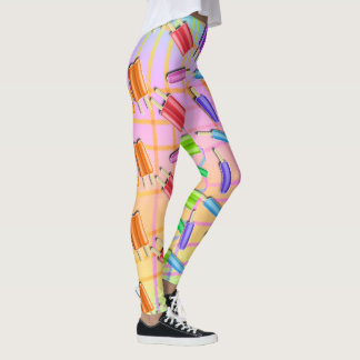 POP ART POPSICLES LEGGINGS