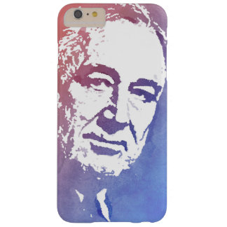 Pop Art Portrait of FDR in Red and Blue Barely There iPhone 6 Plus Case