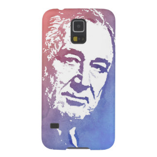 Pop Art Portrait of FDR in Red and Blue Galaxy S5 Cover