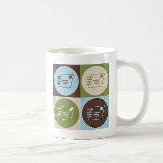 Pop Art Postal Service Classic White Coffee Mug