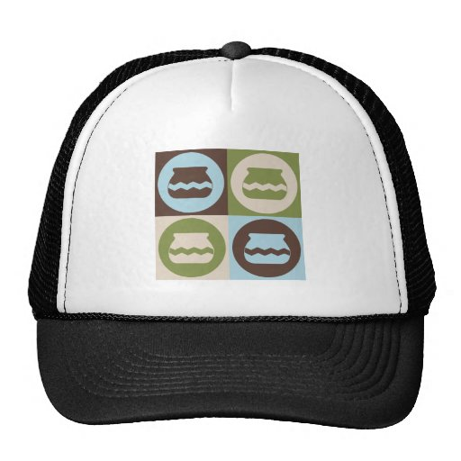Pop Art Pottery Trucker Hats