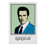 Pop Art President Arnold Print