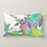 Pop Art Psychedlic Floral Abstract Designer Style Throw Pillows