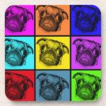 Pop Art Pug Coasters