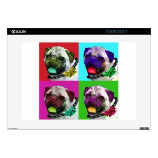 Pop Art Pug Decals For Laptops