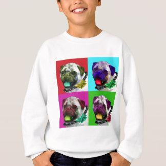 Pop Art Pug Sweatshirt