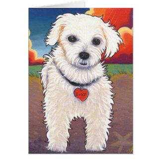 Pop Art Pup Card