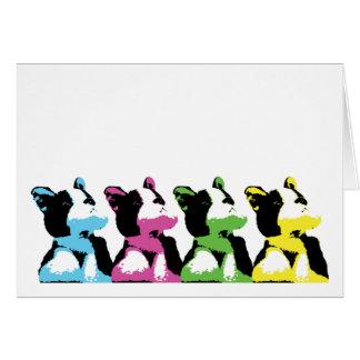 Pop Art Puppy Card