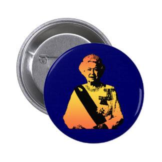 Pop Art Queen Elizabeth 2 Inch Round Button