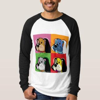 Pop Art Quilt Dog Tshirt